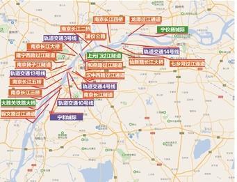 【交通】江苏加密跨江通道 2025年已建在建跨江桥隧将超30座