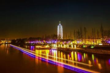 【景点】南京外秦淮点亮城市