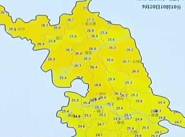 """新一波降水来了!苏南率先入秋,春捂秋冻""""三不露"""""""